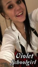 Meet the beautiful Violet Schoolgirl in Cork City  with just one phone call